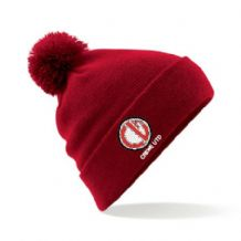 Crewe United Red Beanie Hat